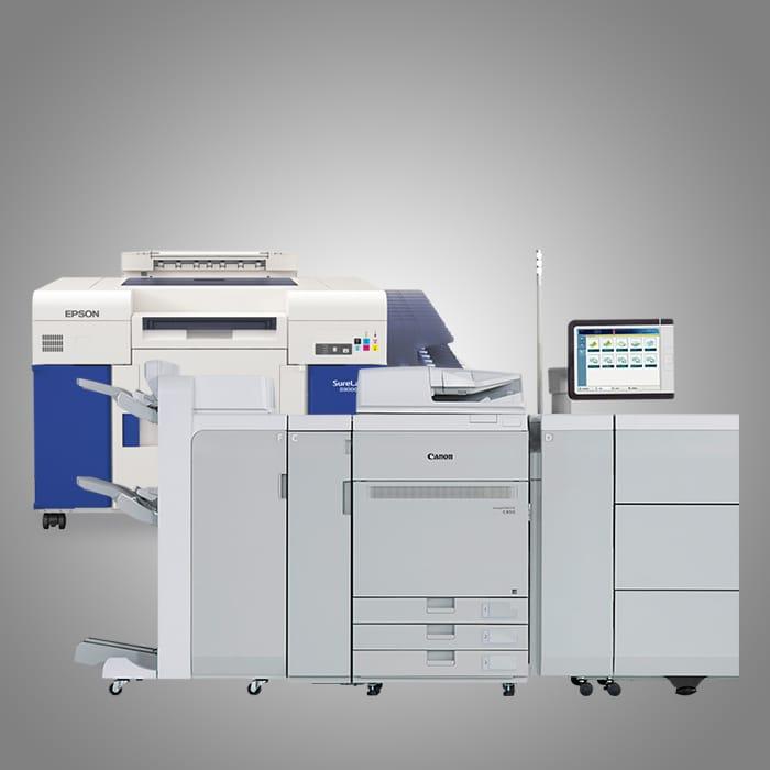 Canon ImagePress and Epson SureLab Printers
