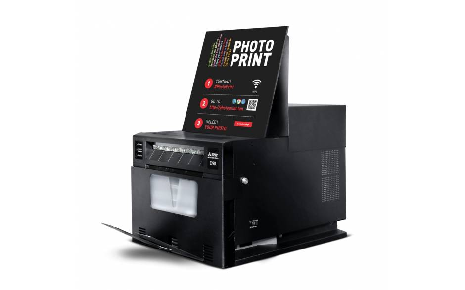 Mitsubishi Smart D90EV Dye Sub Printer for Events