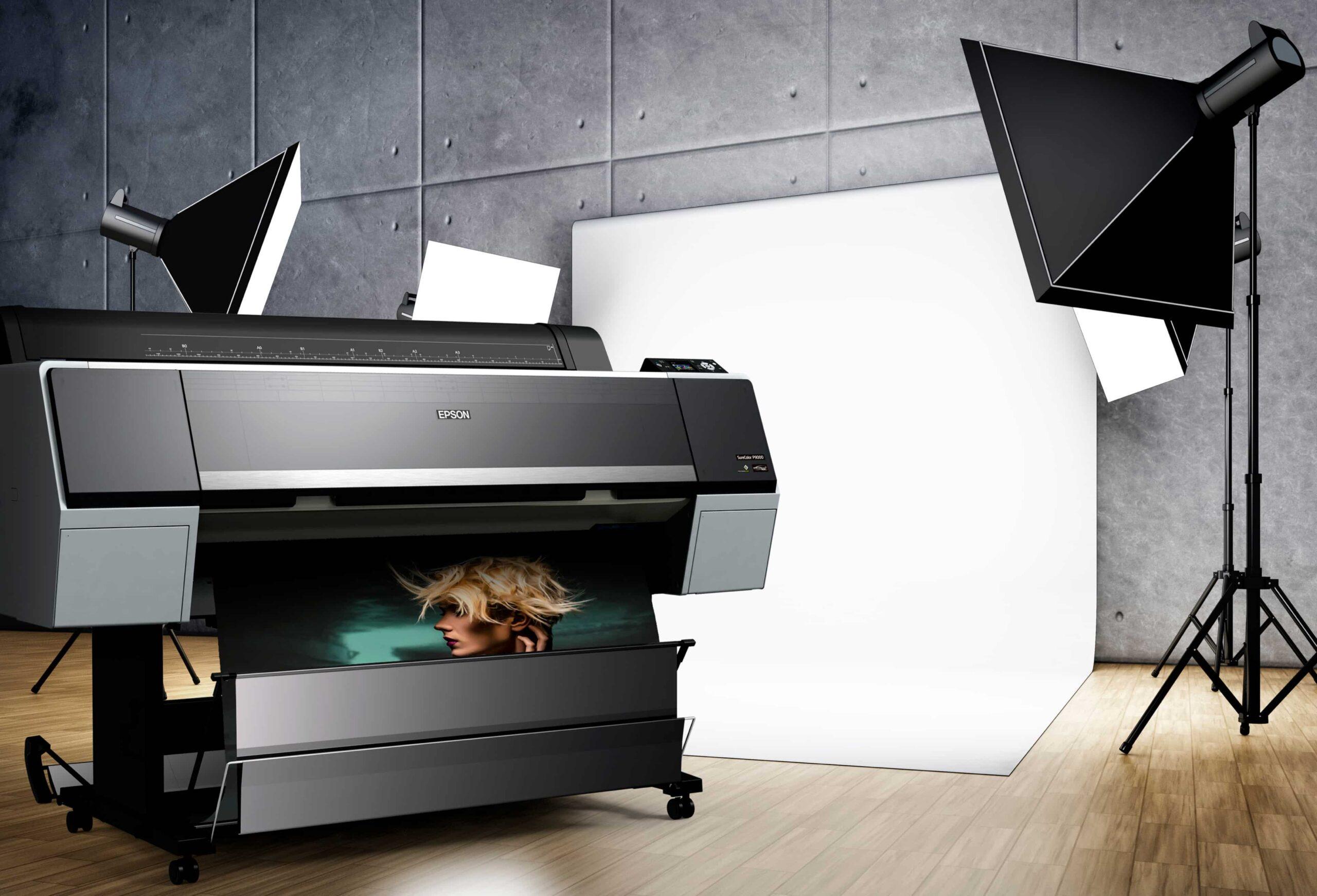 Epson Inkjet Large format Printer - Tenaui Middle East