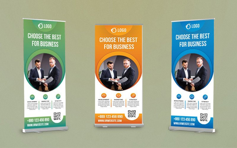 Roll-up banner - Tenaui Middle East